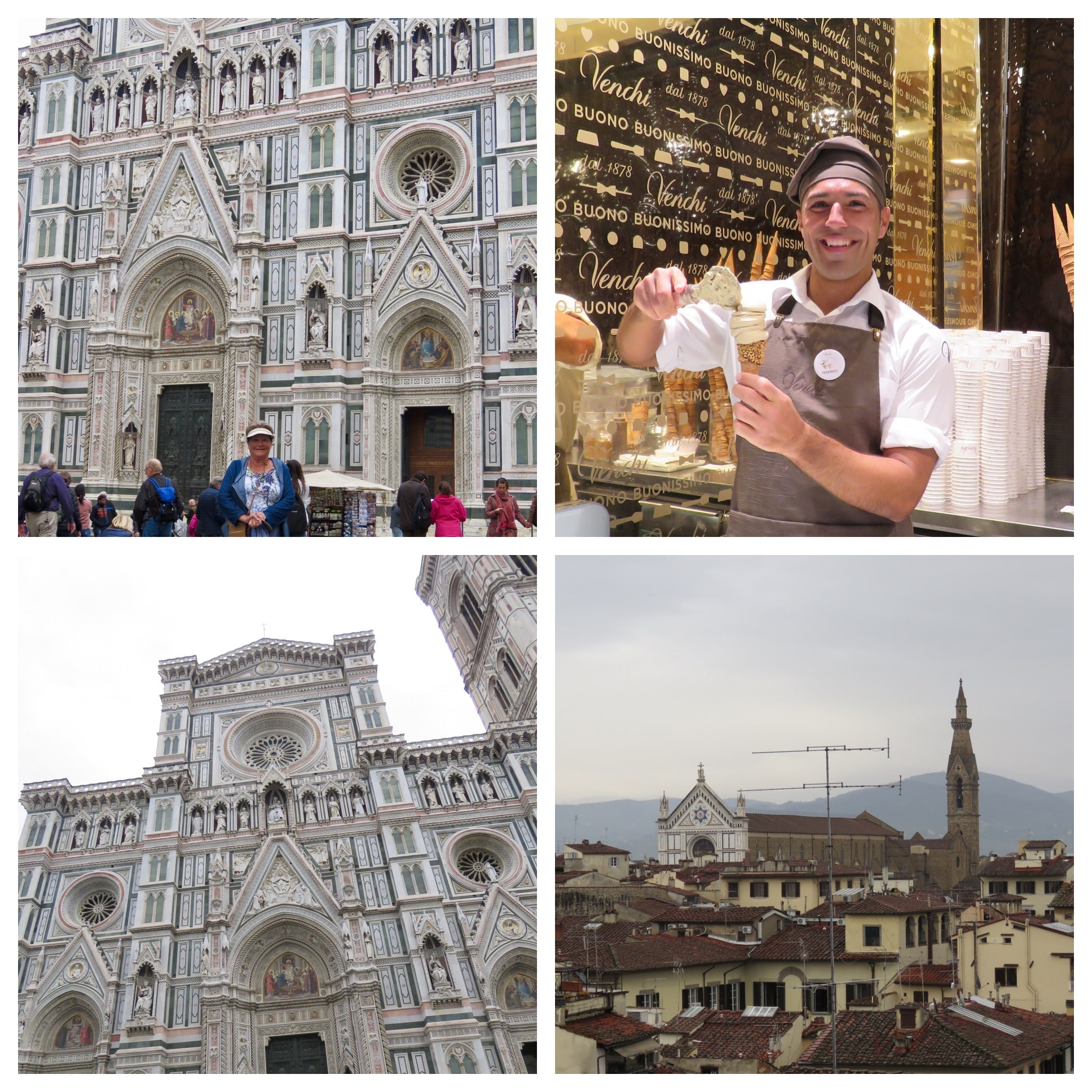 photos from our client Esther on her Italy luxury travel trip honoring her friend who passed away before the trip