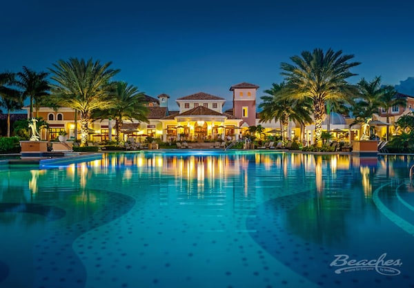 beaches turks and caicos all inclusive family resorts Italian village main pool
