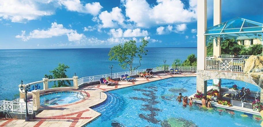 663b4410457958 Sandals Grande St Lucian Spa and Beach Resort - All Inclusive Vacation