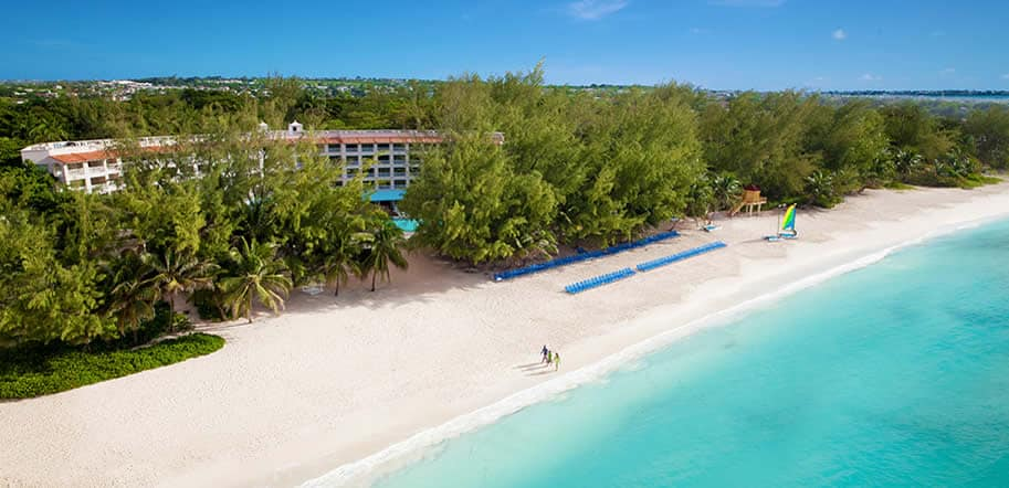 Sandals Barbados resort, ideal for all inclusive destination weddings