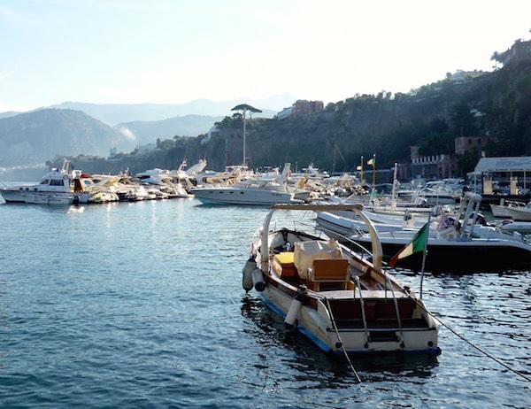 Positano, Italy, on the Amalfi Coast, one of three Italian vacation hotspots