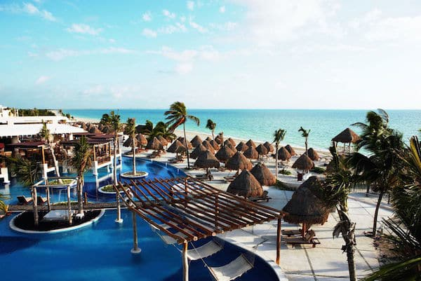 Excellence Playa Mujeres in Mexico, one of the best all inclusive adults only honeymoon resorts