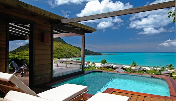 Hermitage Bay, one of the top all-inclusive adults only honeymoon resorts