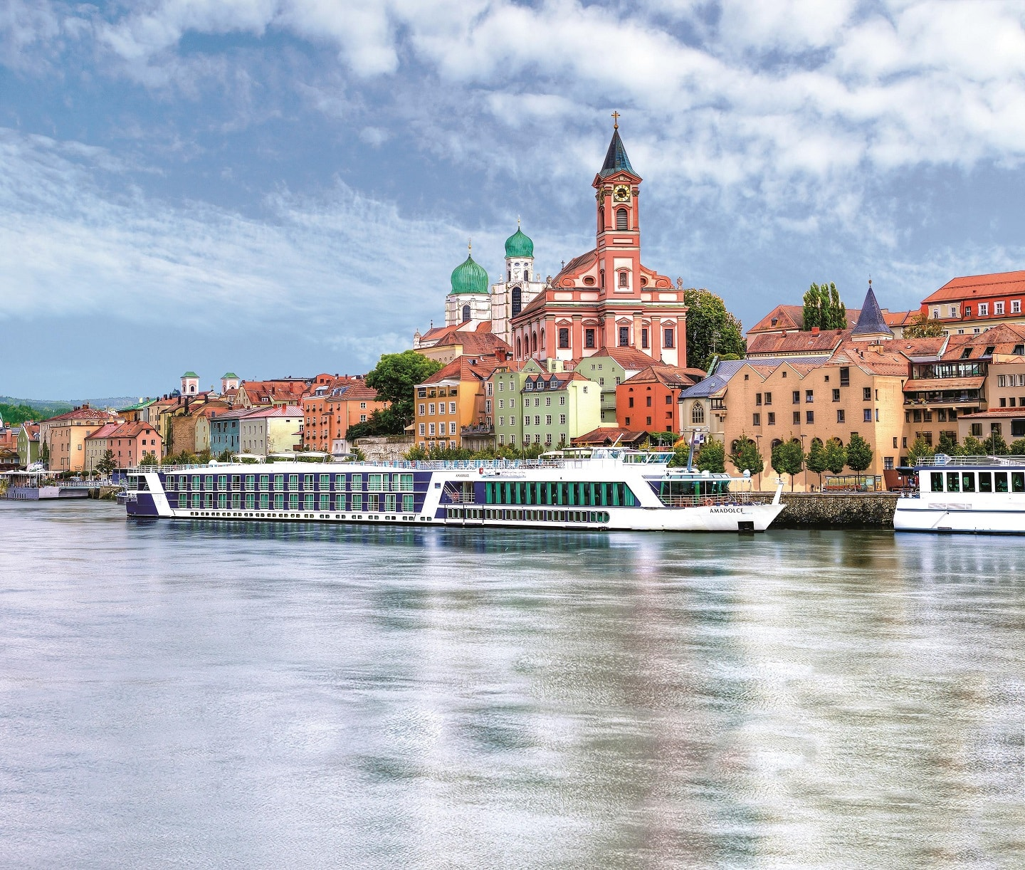 European river cruising With AmaWaterways AmaDolce, part of many luxury family vacations