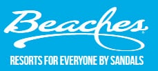 logo beaches all inclusive resorts by sandals