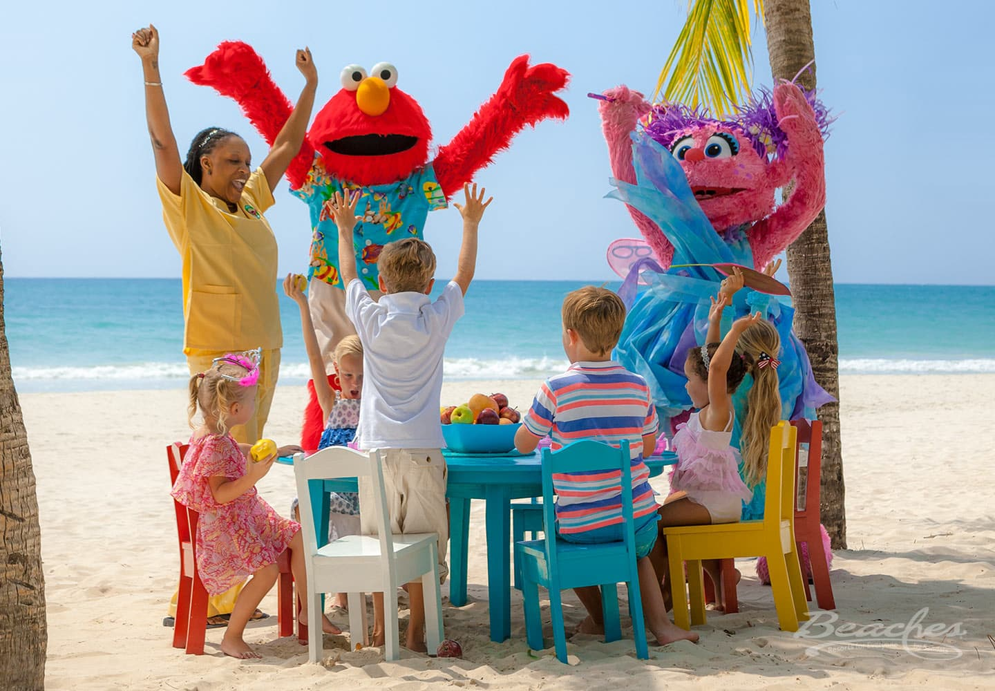 kids camp at the Beaches Negril resort in Jamaica, all inclusive family vacations planned by Southern Travel Agency Augusta, GA