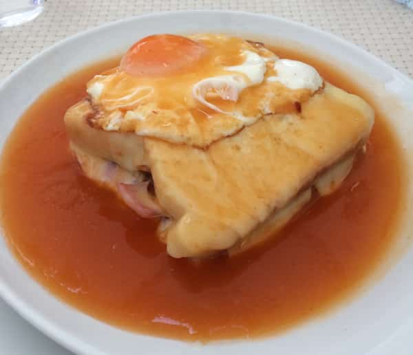 Francesinha, massive sandwich famous in Porto, top 10 things to do in Porto, Portugal
