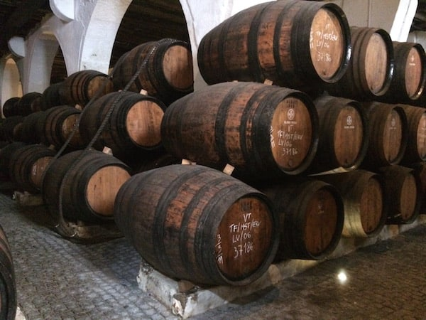 wooden wine keg in Porto, Portugal, things to do in porto, portugal