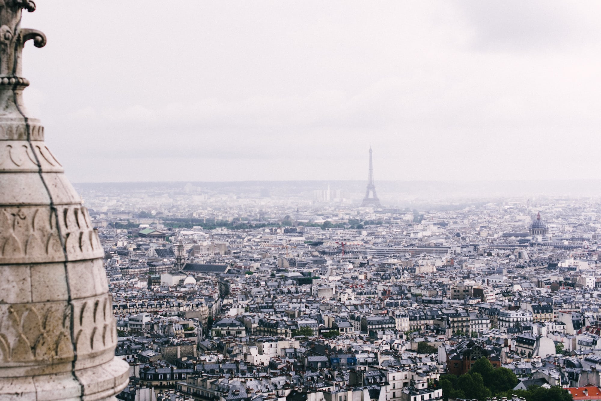 bird eye view of Paris, Paris tour guide - luxurious things to do in Paris