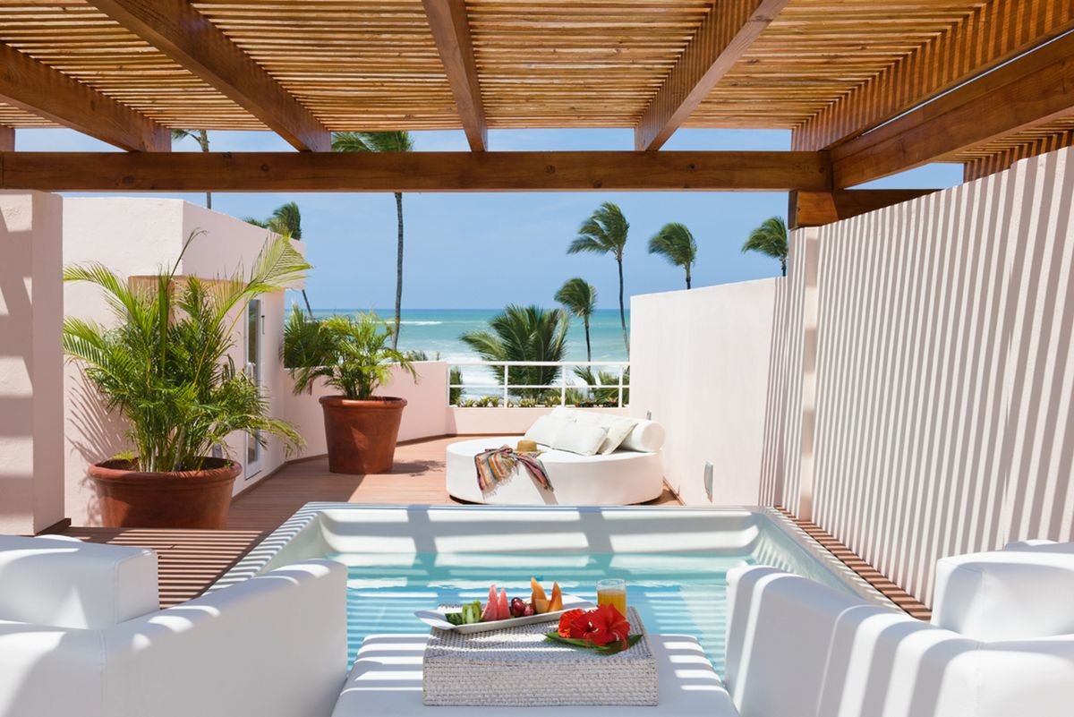 private suite at the Excellence Punta Cana resort for adults only vacations