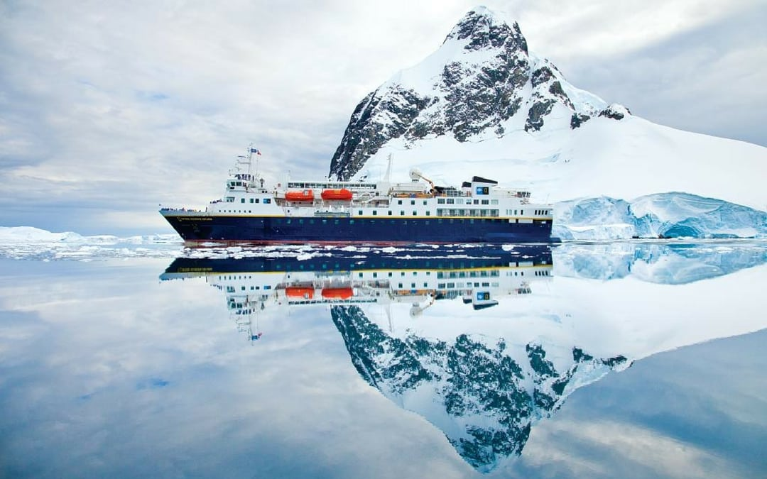 Lindblad Expeditions in the Antarctica