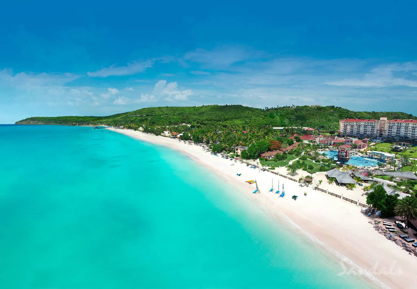 reopening the stunning Sandals Grande Antigua, part of Sandals resort news winter 2017