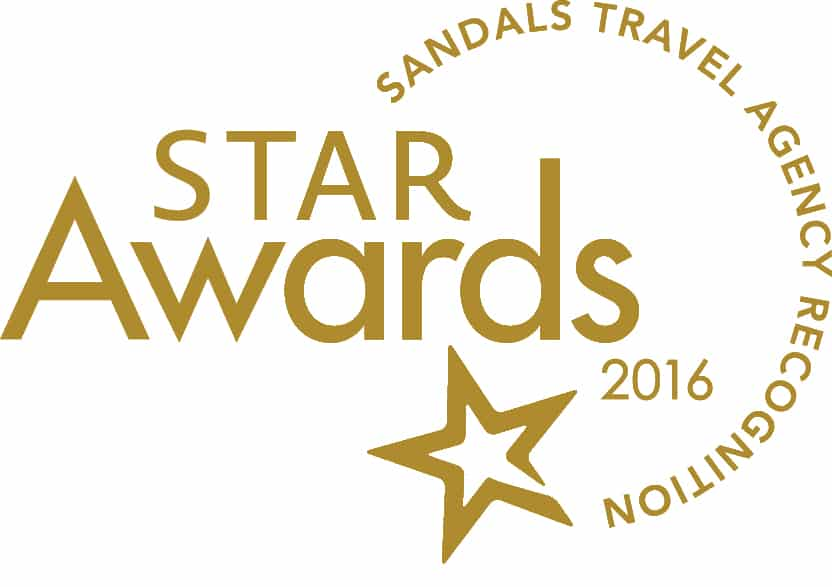 Award Winning Sandals Travel Specialist - Winners of Sandals Prestige Best of the Best Award