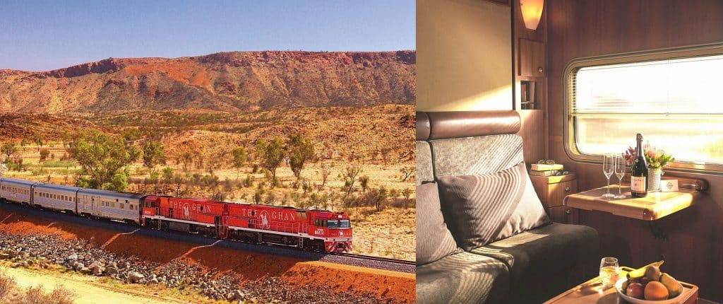Ghan Train and Interior