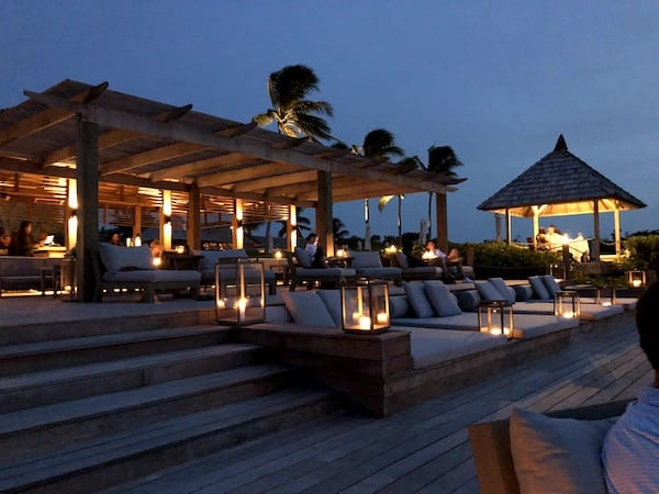 Parrot Cay Resort Turks and Caicos deck