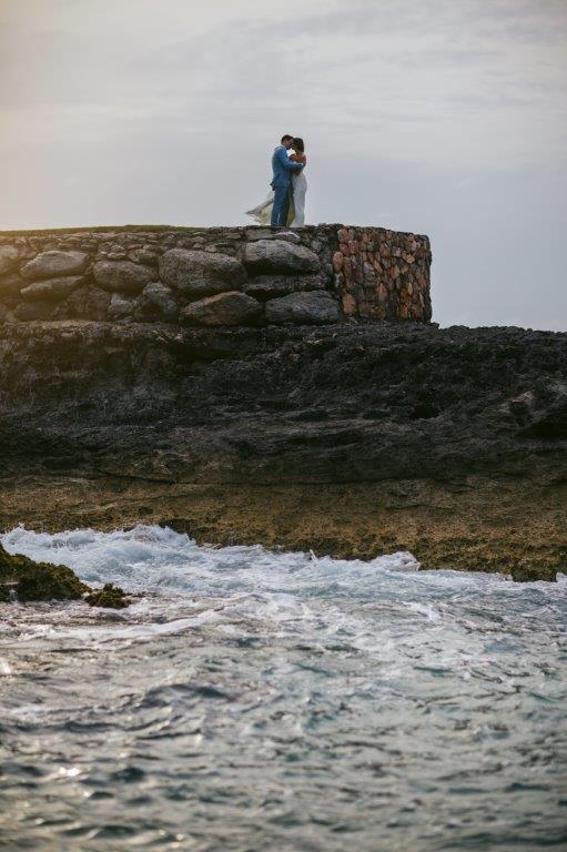 destination wedding at Sandals emerald bay cliff