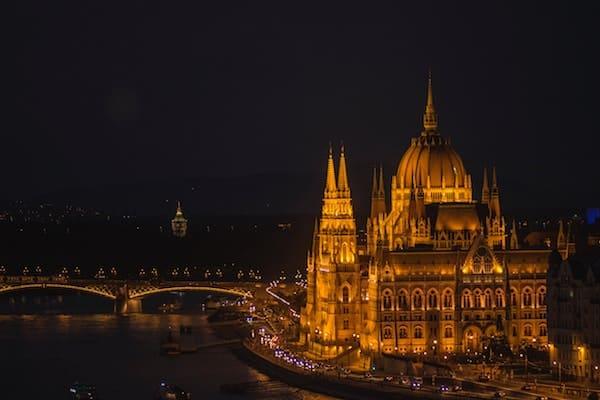 danube river cruise in budapest, europe
