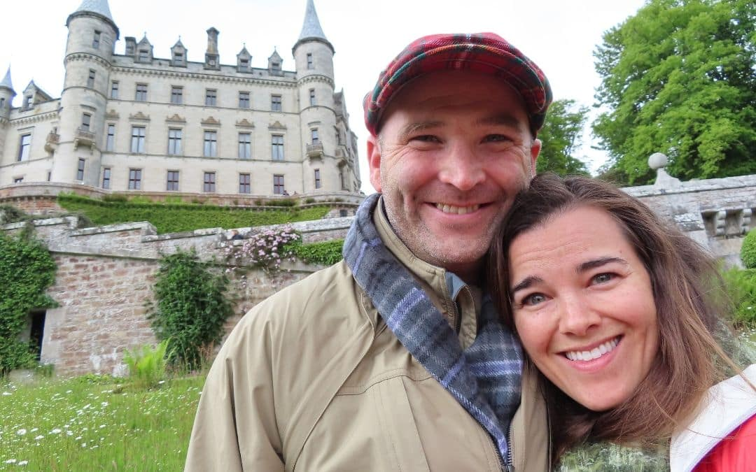 Custom Designed Scotland Vacation: Tim and Summer Bell's Exciting 10-Wedding Anniversary Celebration