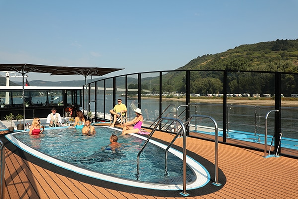 AmaWaterways deck pool