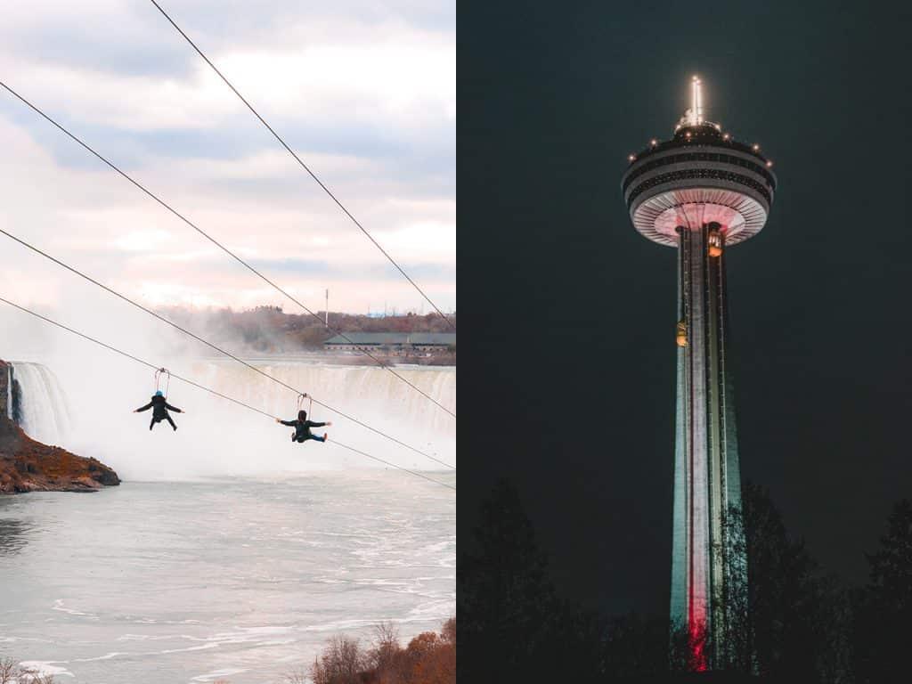Niagara Falls Zip Skylon