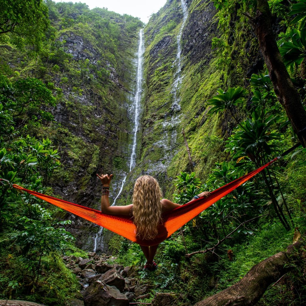 Hawaii Waterfall Hammock