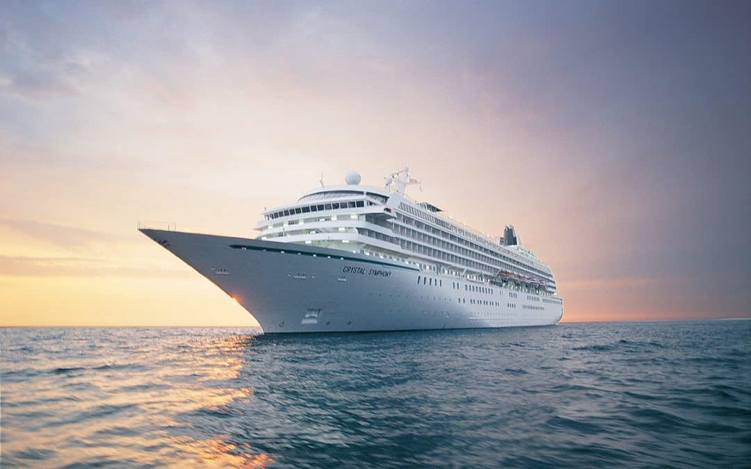 crystal cruise symphony, luxury crystal cruises