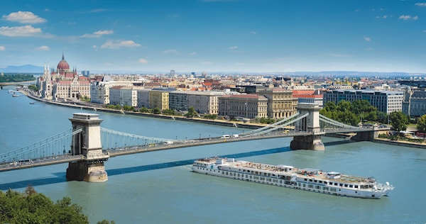 luxury crystal cruises river cruise through Budapest