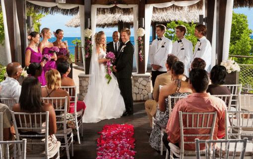 all inclusive destination wedding Sandals Ochi beach resort, tailor-made luxury vacation packages by Southern Travel Agency Augusta, GA