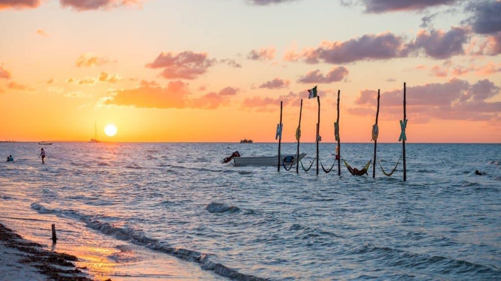 Mexico Yucatan hammocks
