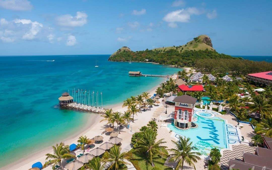 Sandals Grande St. Lucian Spring Vacation