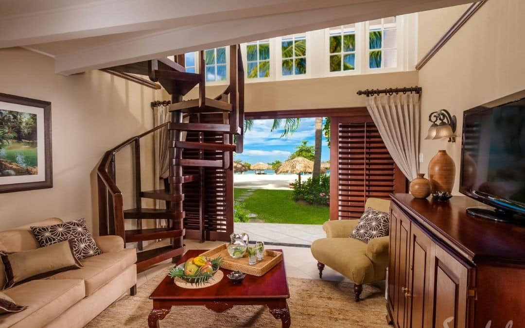 Sandals Negril review, all inclusive resort in Jamaica