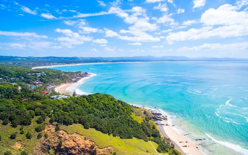 Byron Bay, Australia, sunny travel destinations