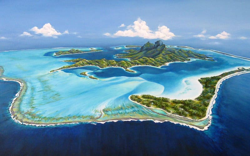 Bora Bora, French Polynesia, sunny travel destinations