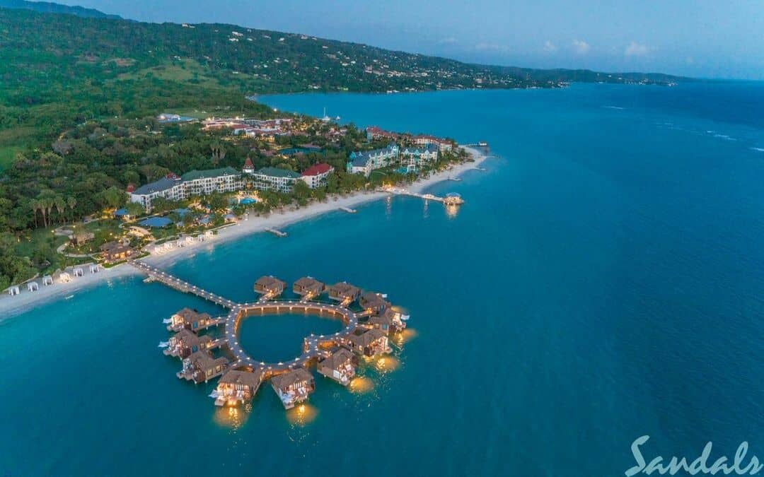 Melissa and Tripp's 16-Year Wedding Anniversary Celebration at Sandals South Coast in Jamaica